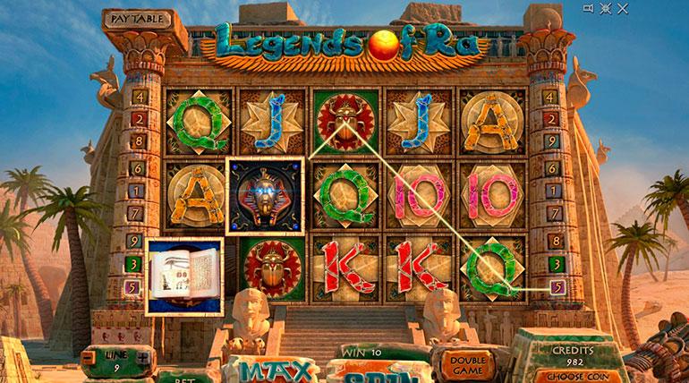 Legend of Ra – популярный автомат египетской тематики