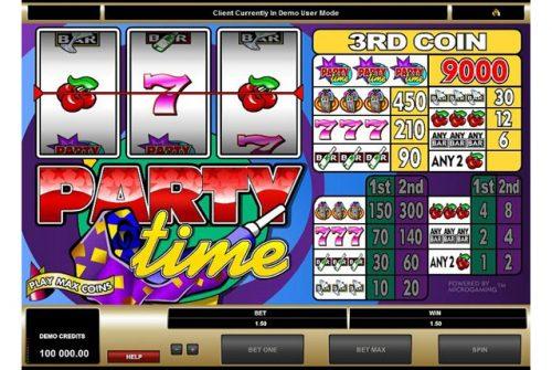 Классика от Аматик: обзор автомата Party Time