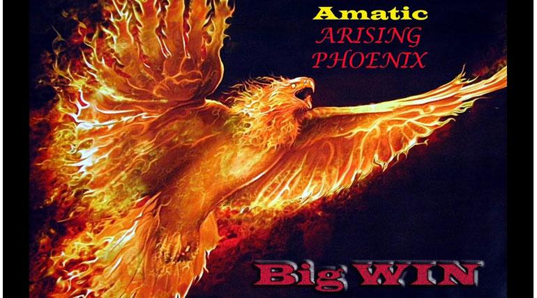 Очередной шедевр от Аматик: обзор автомата Arising Phoenix
